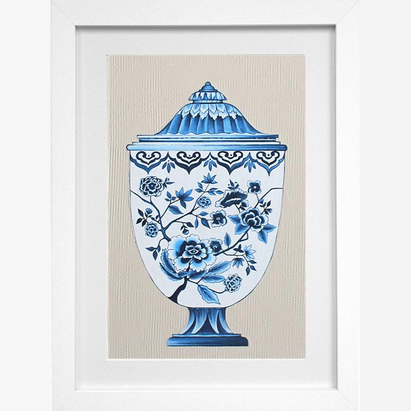Blue & White Vase 2